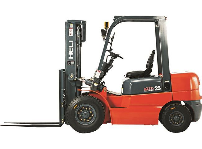 CP45 9000 Pounds (lb) Rated Load Capacity H Series Pneumatic Tired Forklift Truck Image