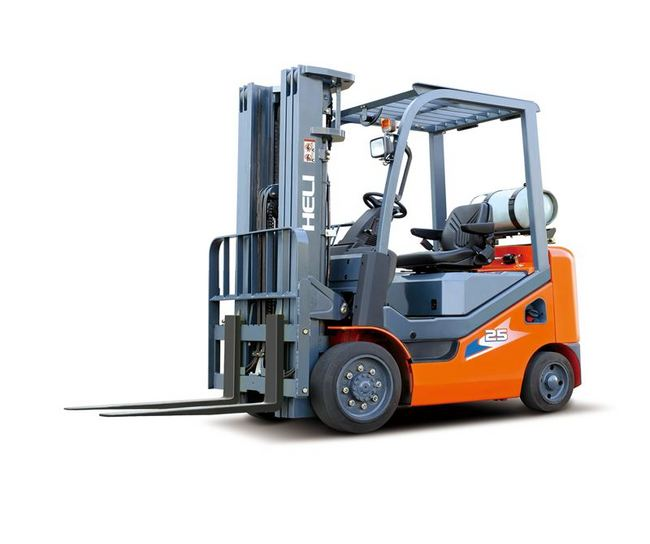CPYCD20C 4000 Pounds (lb) Rated Load Capacity CPYD Series Cushion Tired Forklift Truck Image