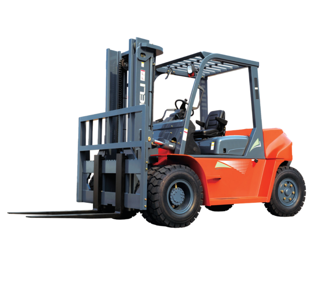 CPCD50 - HELI Pneumatic Tire Forklift Truck Image