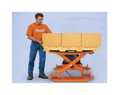 P3-AA-Pneumatic Presto P3 All-Around-Pneumatic Automatically Adjusting Pallet Load Leveler Image